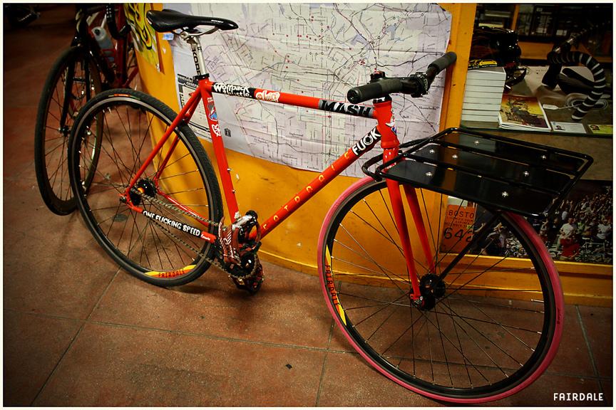 Orange 20 And Hern S Custom Fairdale Fairdale Bikes