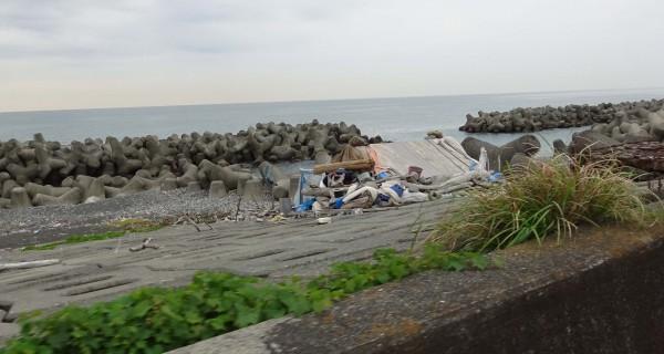 Beach shack.