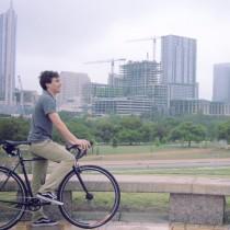 Ben rides the Fairdale Parser
