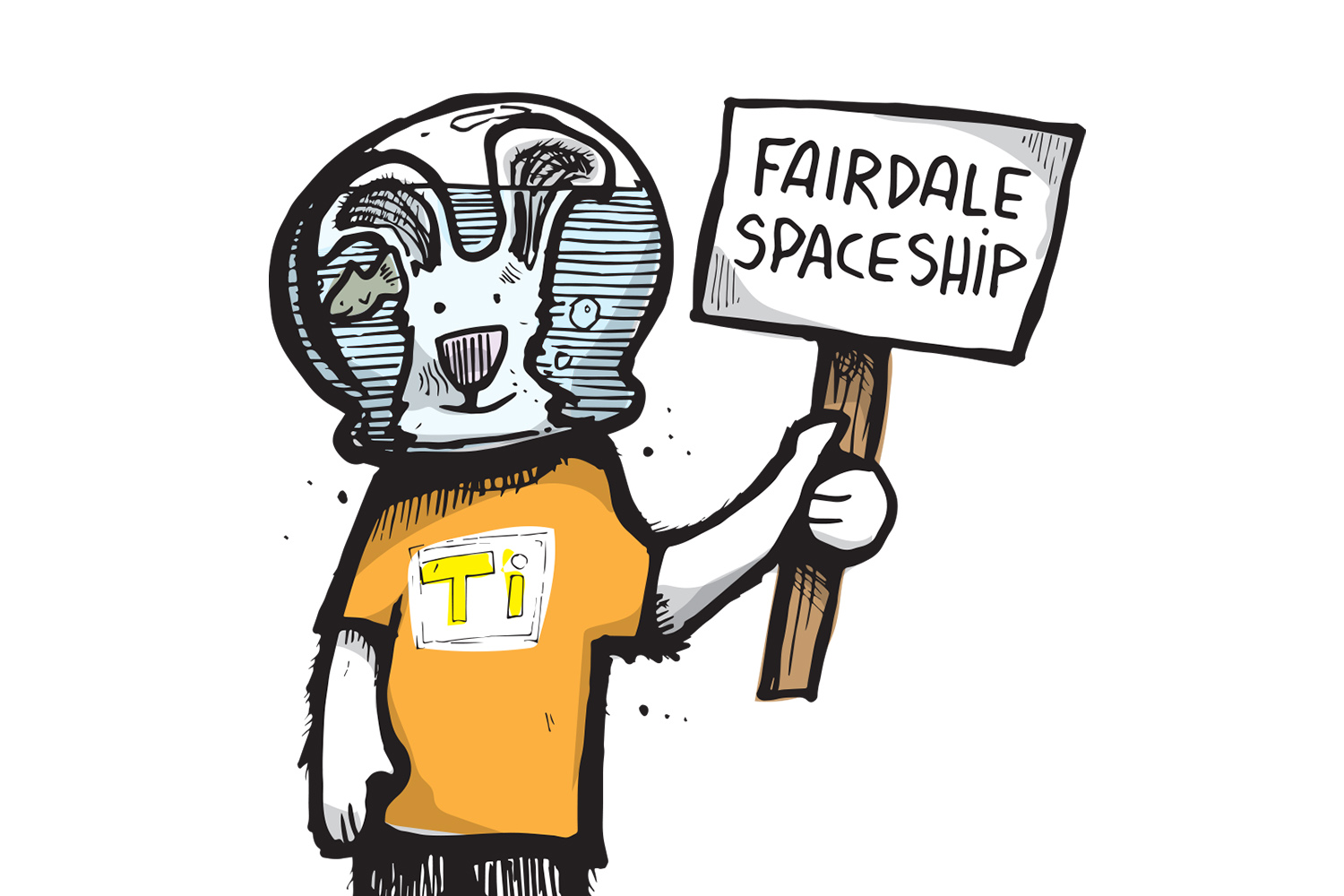 fairdale-spaceship